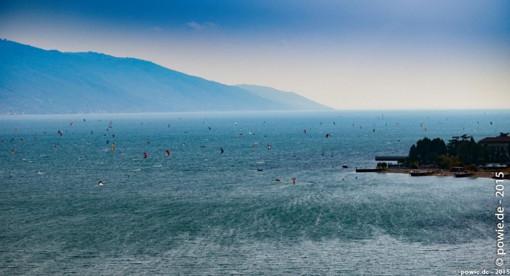 Kitesurfen auf dem Gardasee