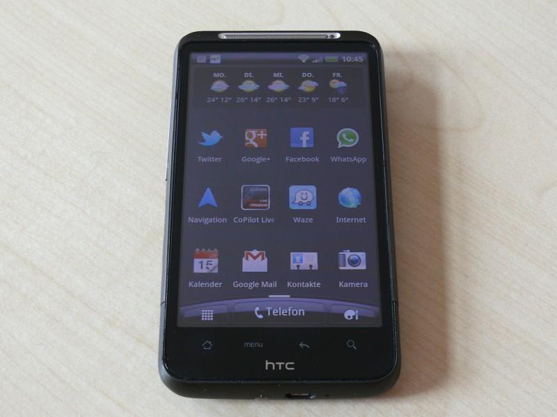 HTC Desire HD – Erlebnisbericht