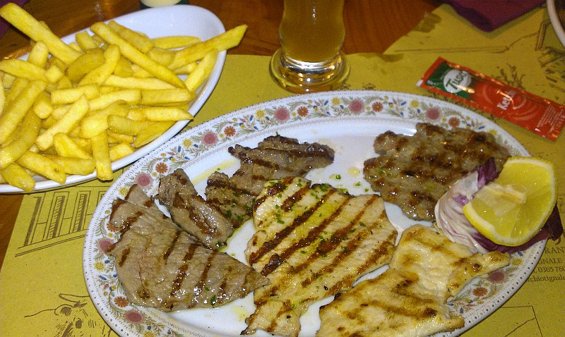 Al Torchio Grillteller