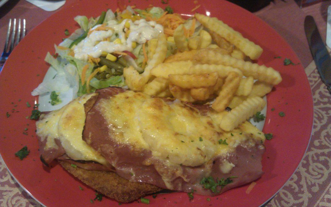 Schnitzel Hawaii