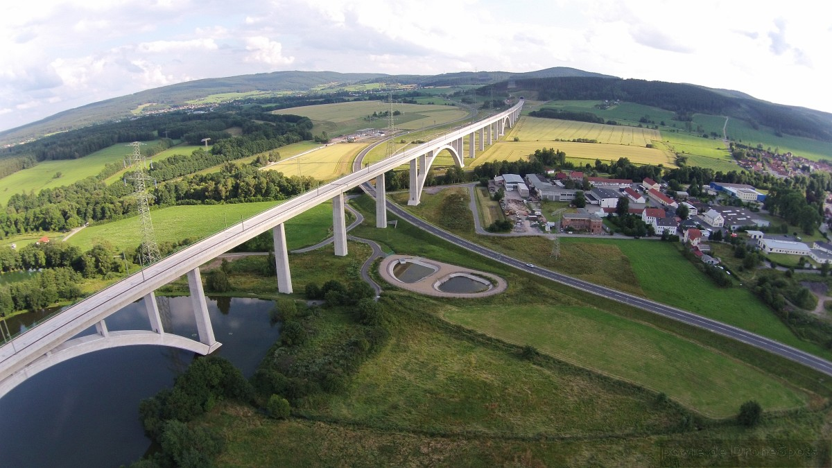 ICE Brücke Langewiesen