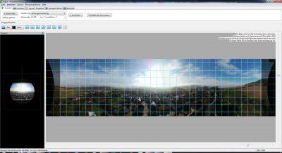 Panorama Bilder ausgerichtet