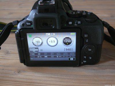 D5500 Touchscreen