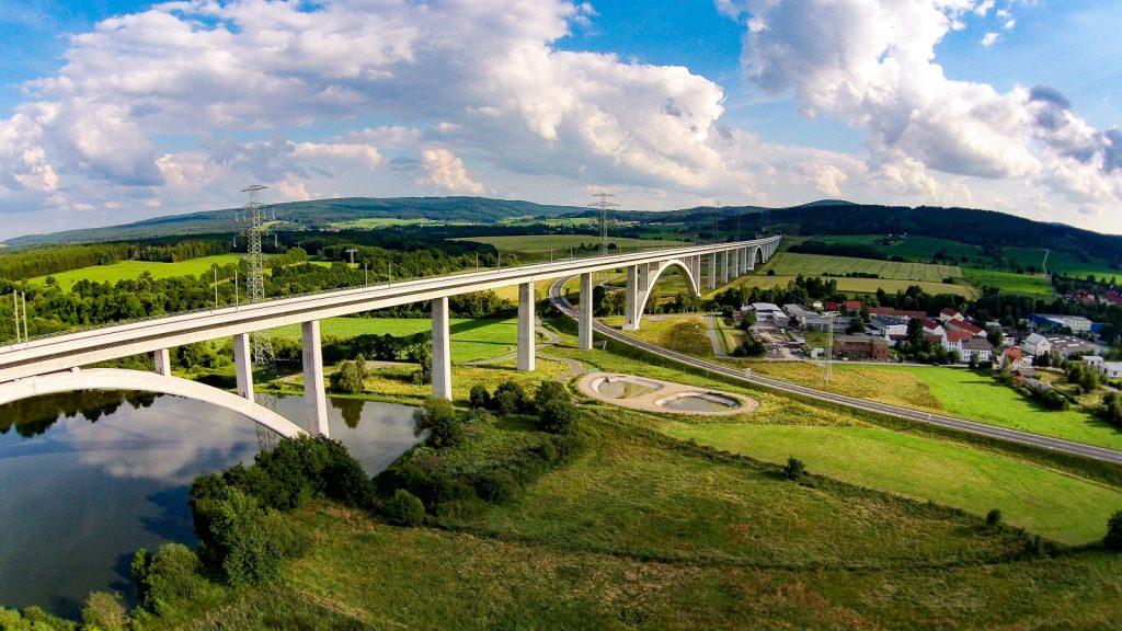 Langewiesen ICE Brücke