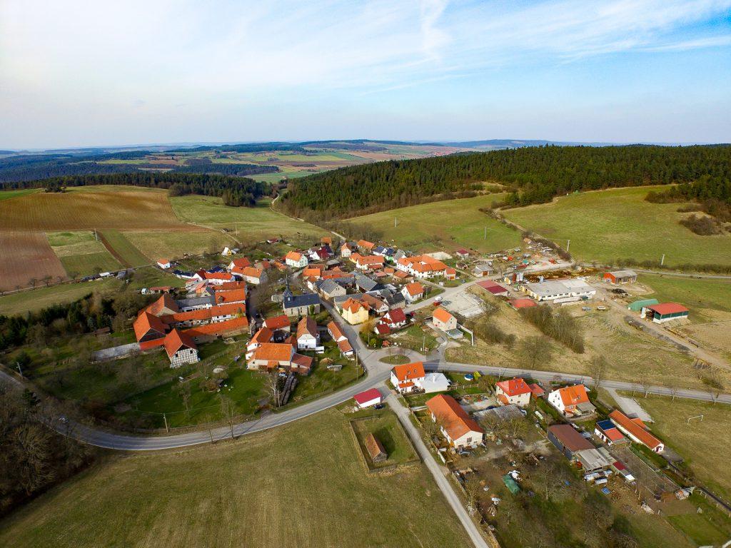 Gösselborn Luftbild