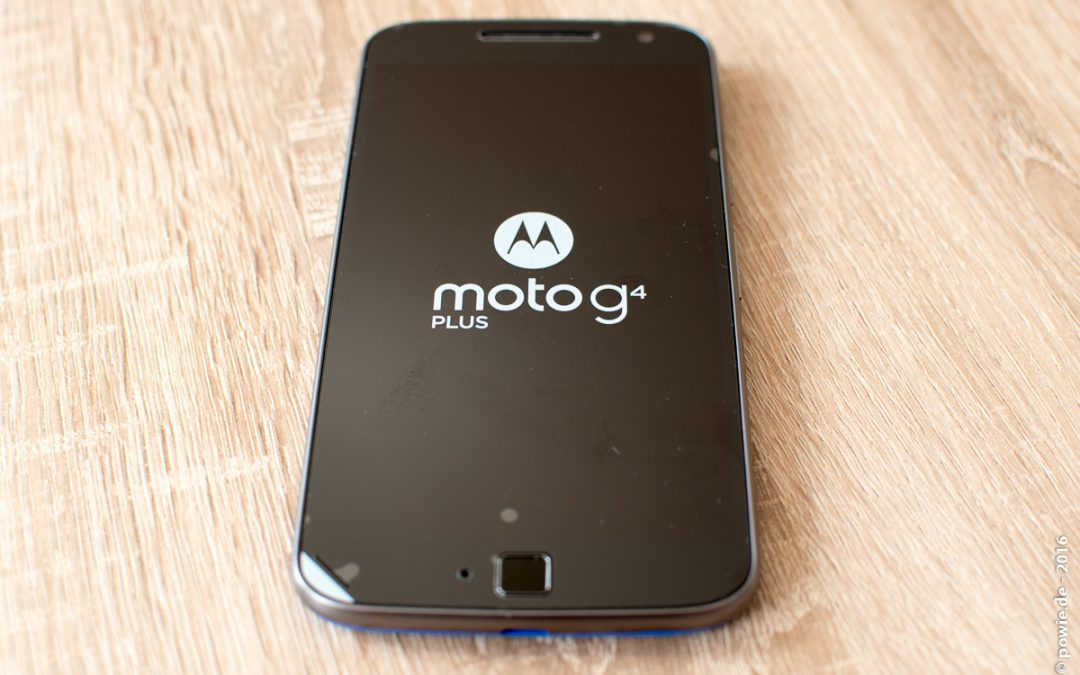 Motorola G4 Plus aus dem MotoMaker