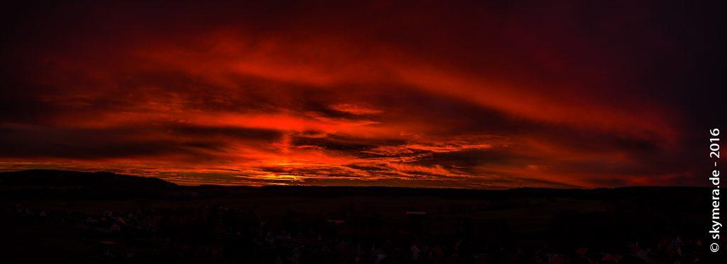 Sonnenaufgang Singen