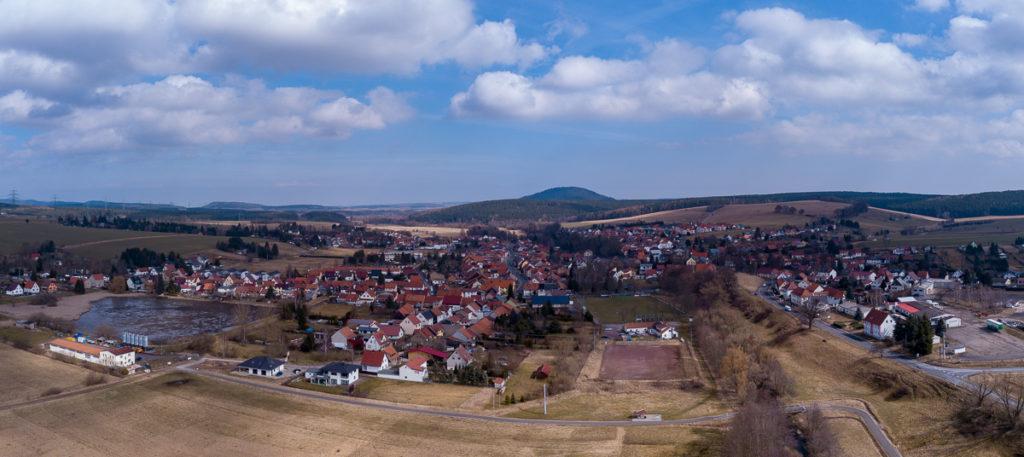Luftbild Gräfinau Angstedt