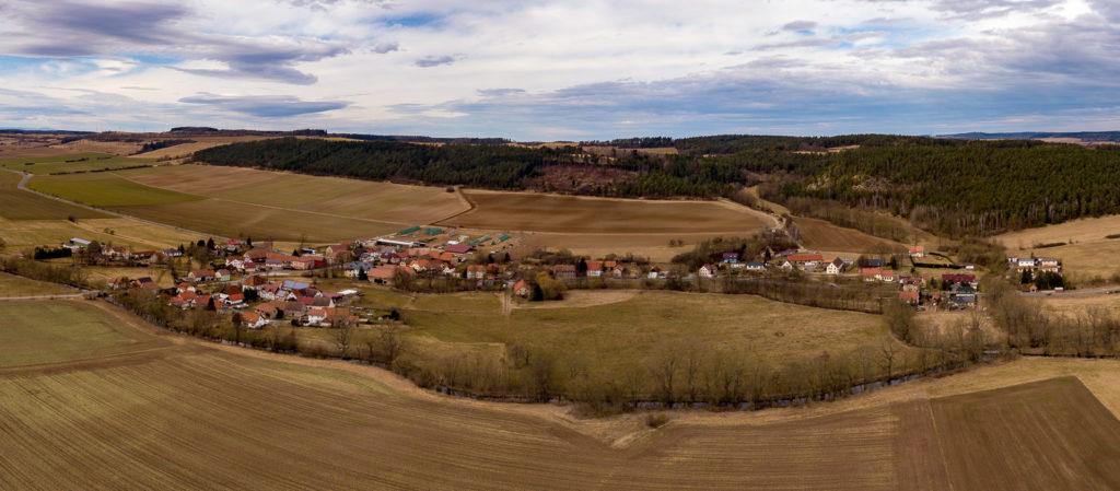 Großhettstedt Luftbild
