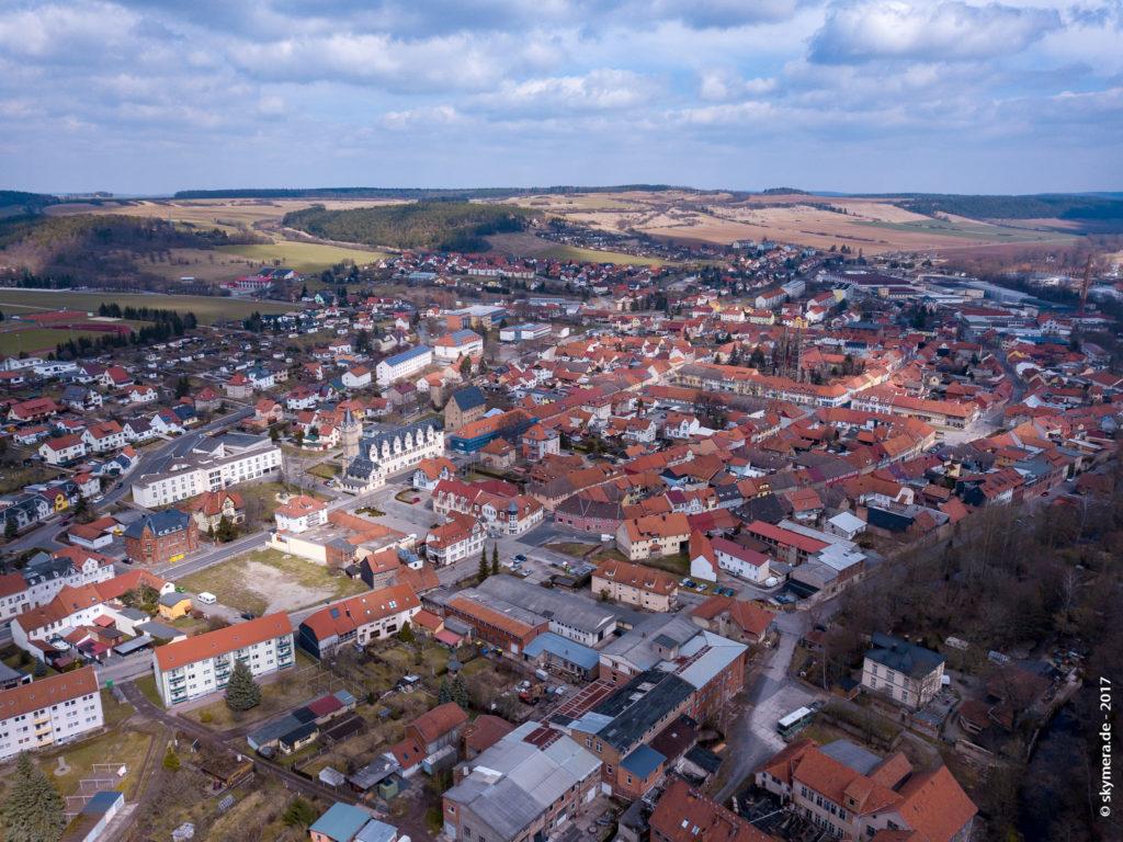 Stadtilm Luftbild