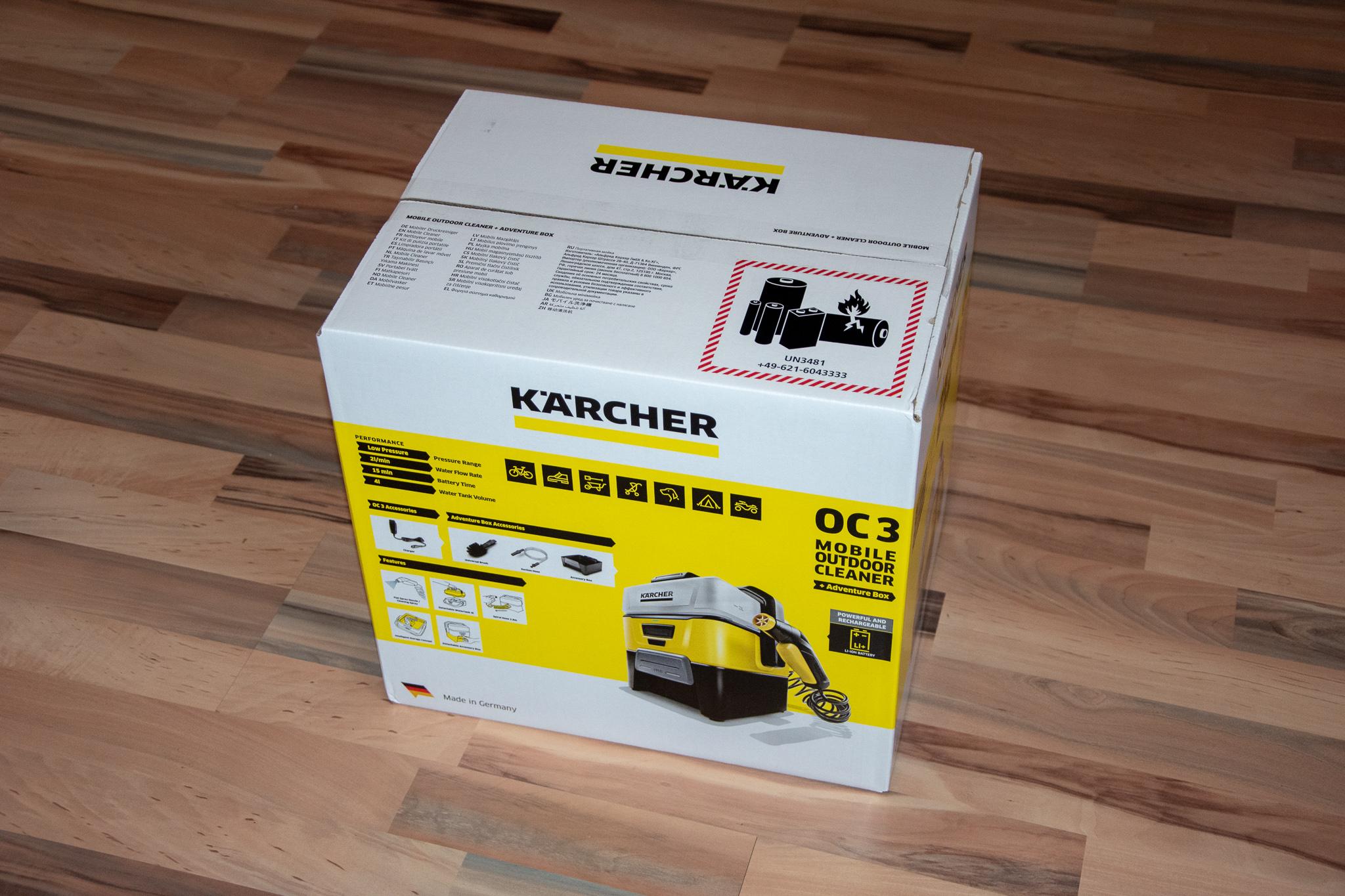 Kärcher OC3 Verpackung