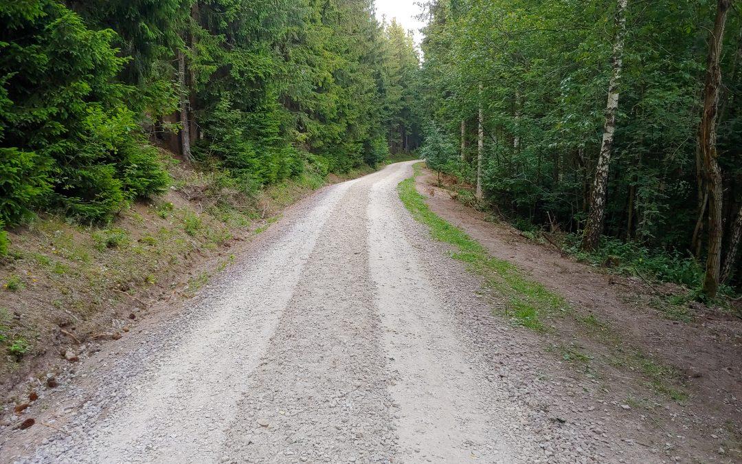 Eine neuer Forstschnellweg