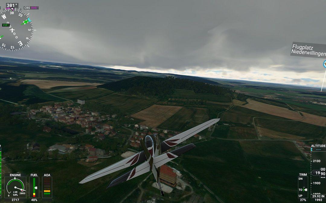MS Flightsimulator 2020 – Abflug delayed