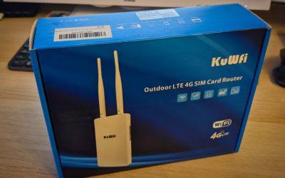 KuWfi 4G Router als DSL Backup