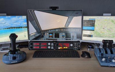 Logitech Saitek Flugsimulator Panel