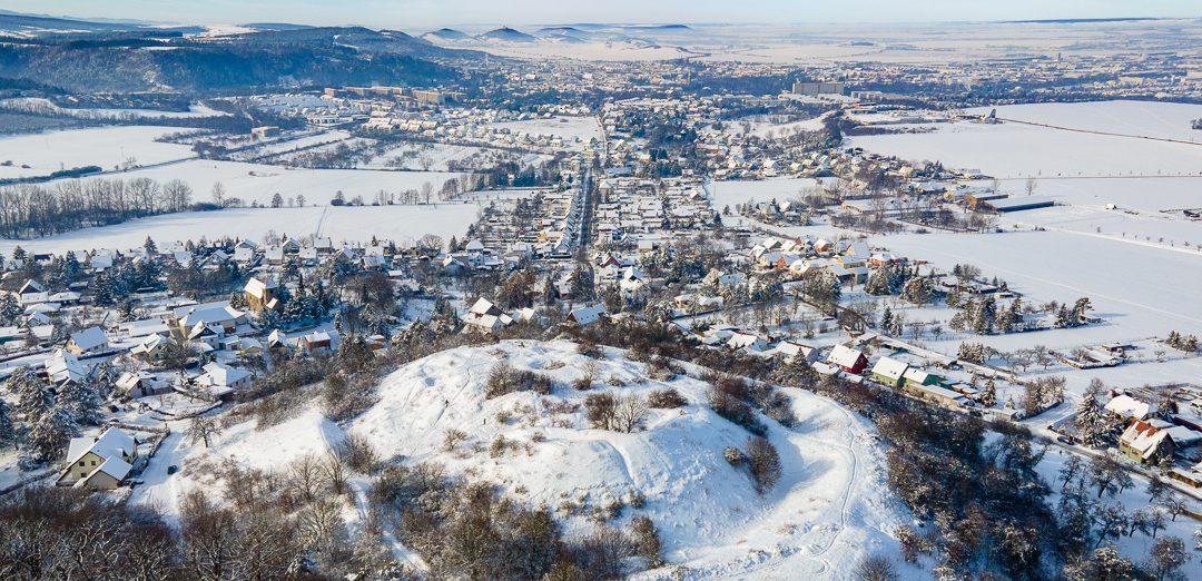 Käfernburg im Winter