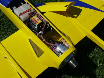 Einbau JetCat  P60SE im Feibao Easyjet