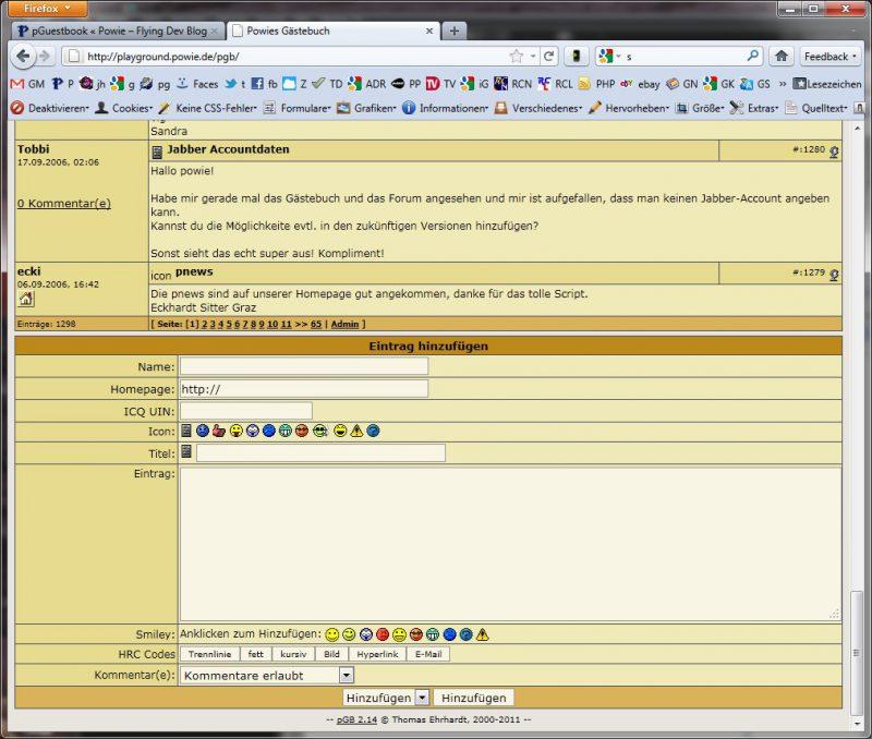 pGB Screenshot
